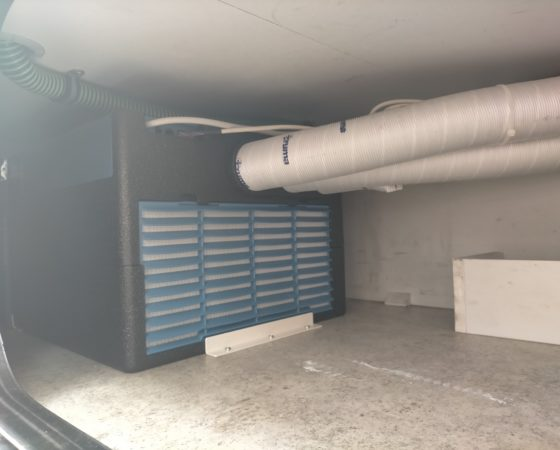 Installazione condizionatore Truma